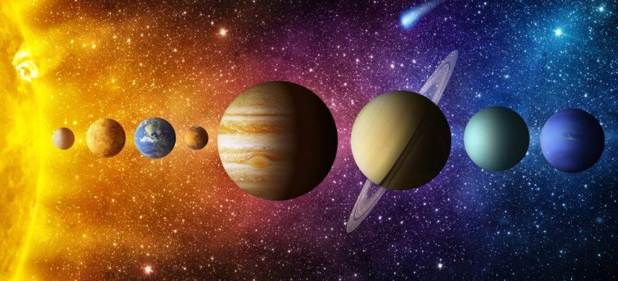 pianeti del sistema solare in ordine grandezza